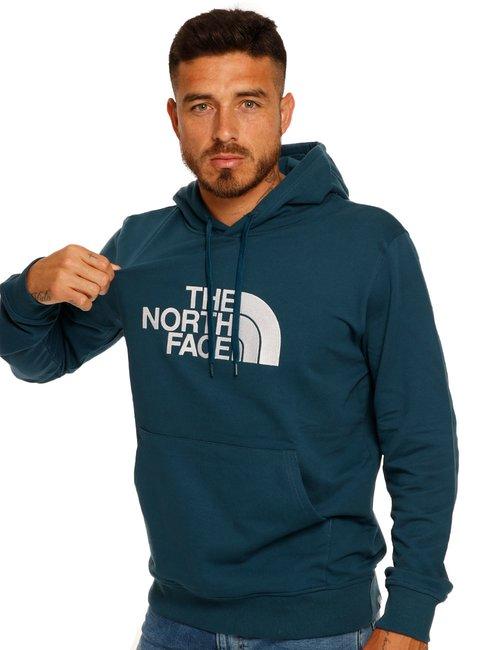 Felpa The North Face con cappuccio - Blu