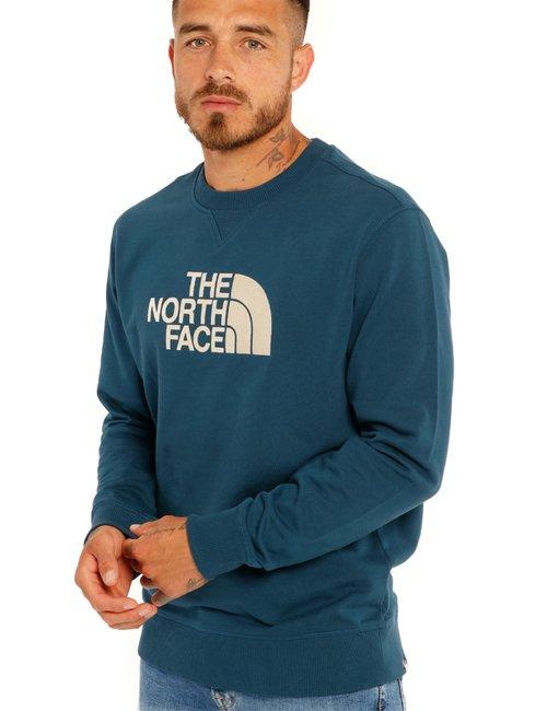 Felpa The North Face con logo - Blu