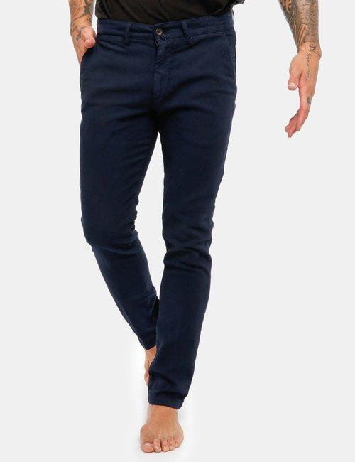 Pantalone Asquani con taschino - Blu Scuro