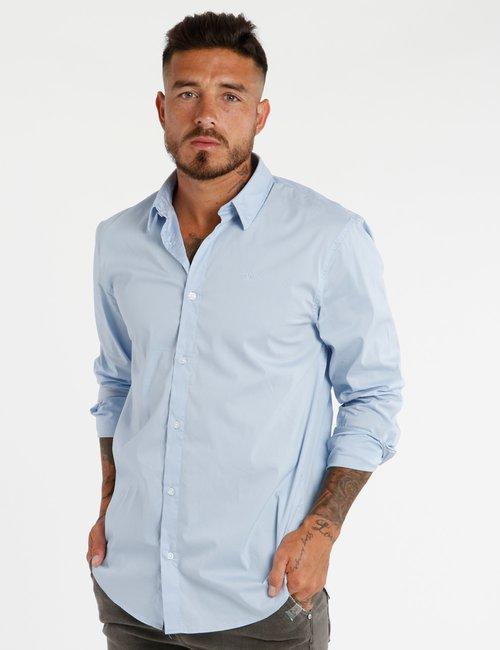 Camicia Guess in cotone - Azzurro