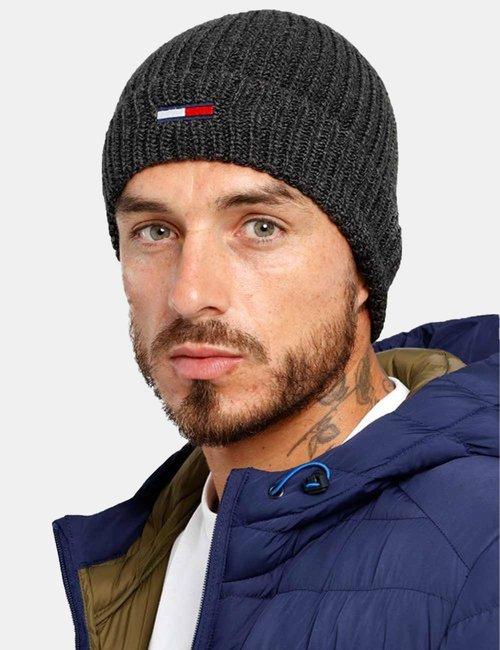 Cappello Tommy Hilfiger con logo - Grigio