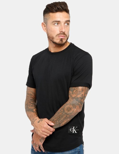 T-shirt Calvin Klein in cotone - Nero