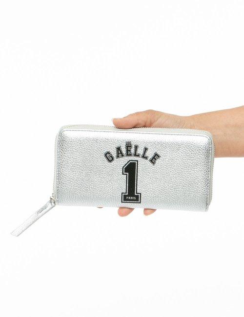 Portafoglio GAeLLE Paris con logo - Argento
