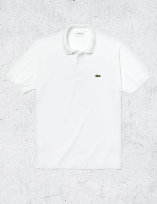 Polo Lacoste classic fit - Bianco