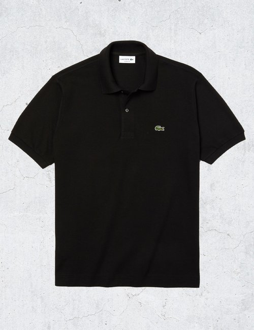 Polo Lacoste classic fit - Nero