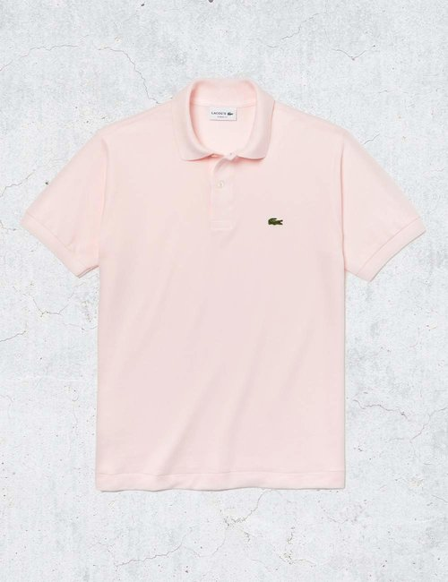 Polo Lacoste classic fit - Rosa