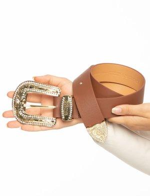 Cintura Guess fibbia oro