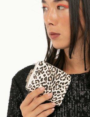 Portafoglio Guess leopardato