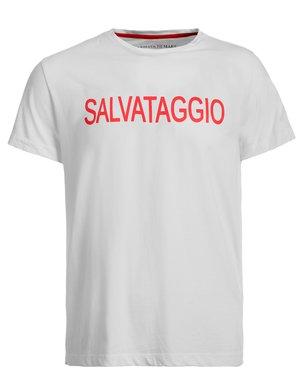 T-shirt Armata di mare con logo sul retro