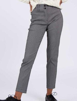 Pantalone Vougue bianco e nero