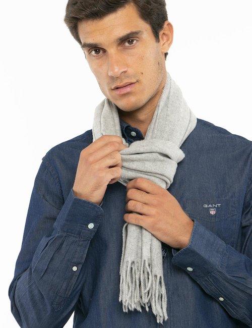 Sciarpa Gant in lana - Grigio