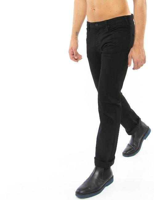 Jeans Armani Jeans cinque tasche - Nero
