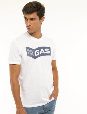 T-shirt Gas logo centrale