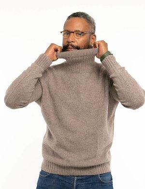 Maglione Maison du Cachemire con collo alto
