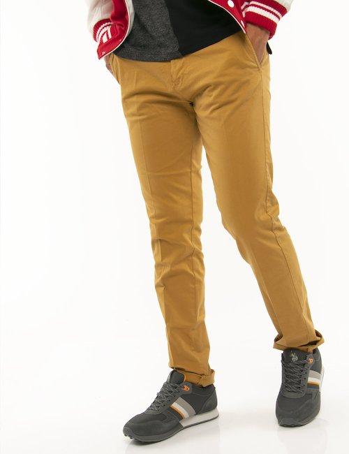 Pantalone Guess skinny - Senape