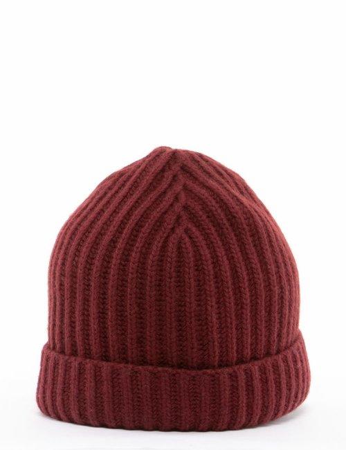 Cappello Maison du Cachemire in lana e cachemire - Bordeaux