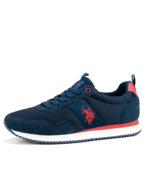 Sneaker U.S. Polo Assn. con logo a lato