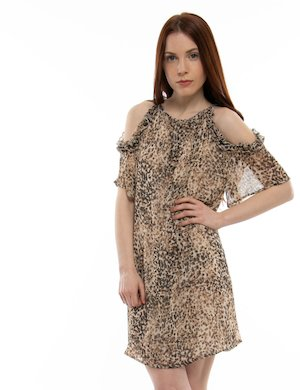 Vestito  Yes Zee con stampa animalier