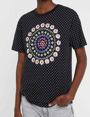 T-shirt Desigual a pois