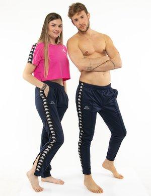 Pantalone Kappa con zip a lato