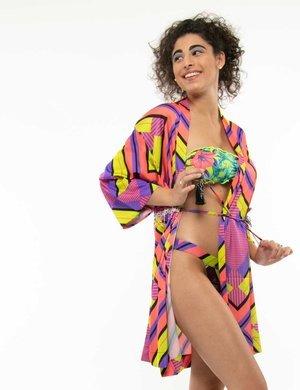 Vestito F**k stile kimono