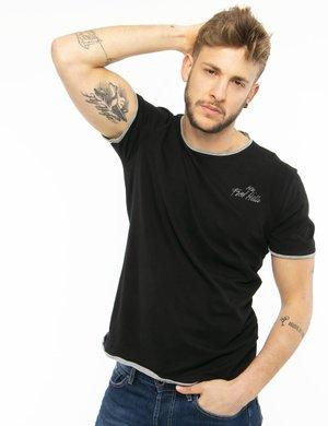 T-shirt Fred Mello con tagli al vivo e bordi applicati