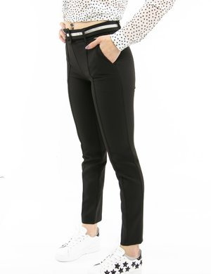 Pantalone Fracominacon cintura in tessuto