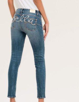 Jeans Fracomina con strass