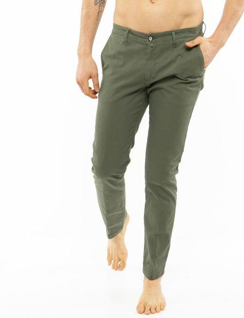 Pantalone Asquani in cotone - Verde