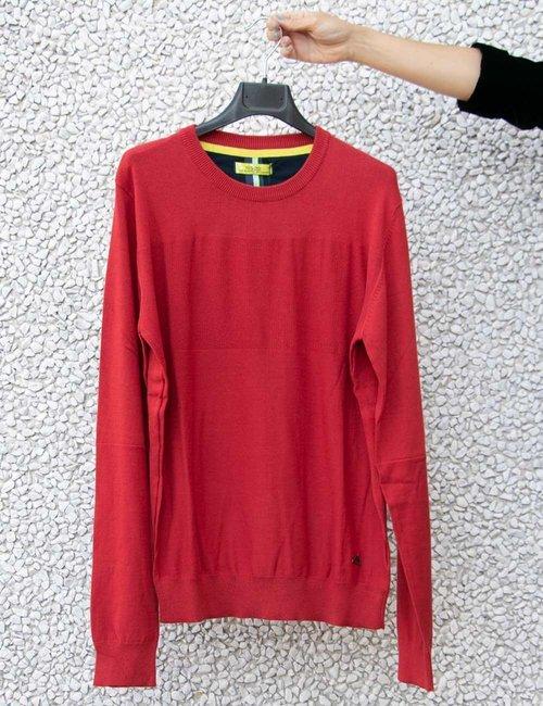 Maglia Yes Zee girocollo - Rosso