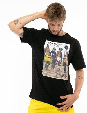 T-shirt Sundek con stampa