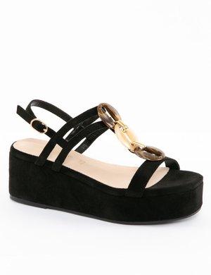 Sandalo Cafè Noir scamosciato