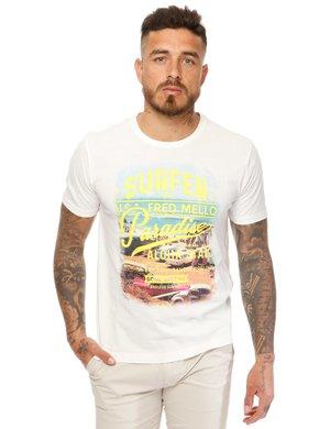 T-shirt Fred Mello stampata