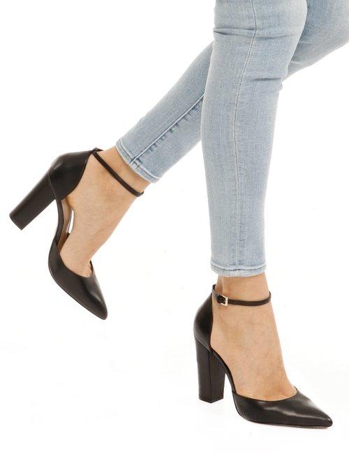 Scarpa ALDO con cinturino alla caviglia - Nero