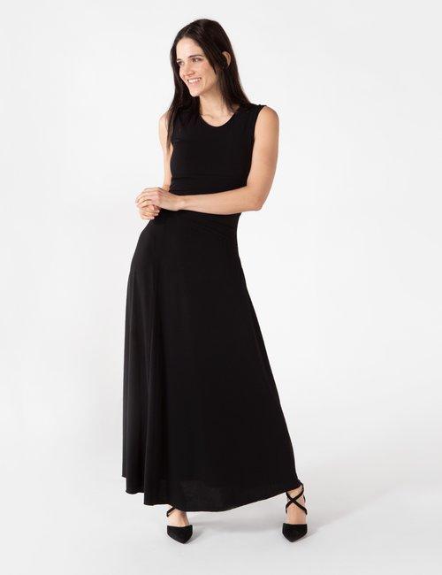 Vestito Vougue lungo - Nero