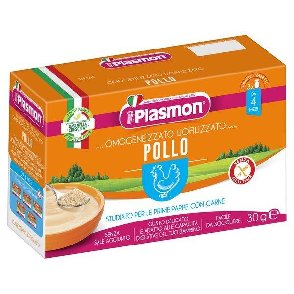 Plasmon Omogeneizzato Liofilizzato Pollo 3 x 10 g