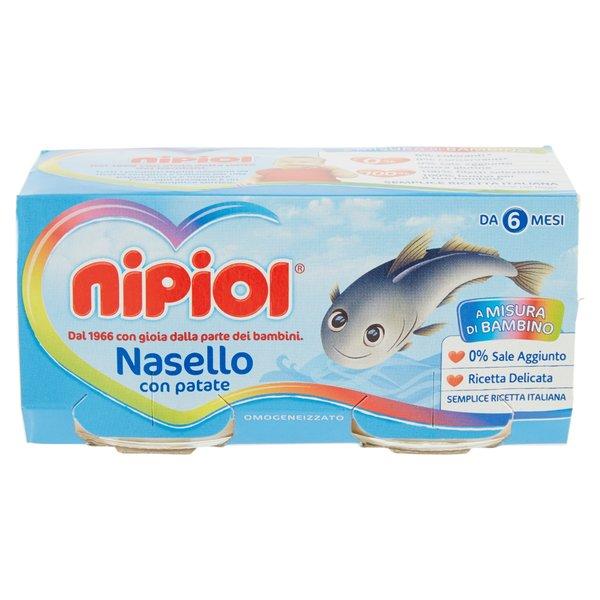 Nipiol Omogeneizzato Nasello con patate 2 x 80 g
