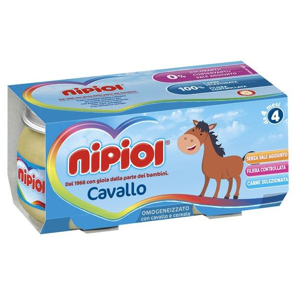 Nipiol Omogeneizzato Cavallo 2x80g