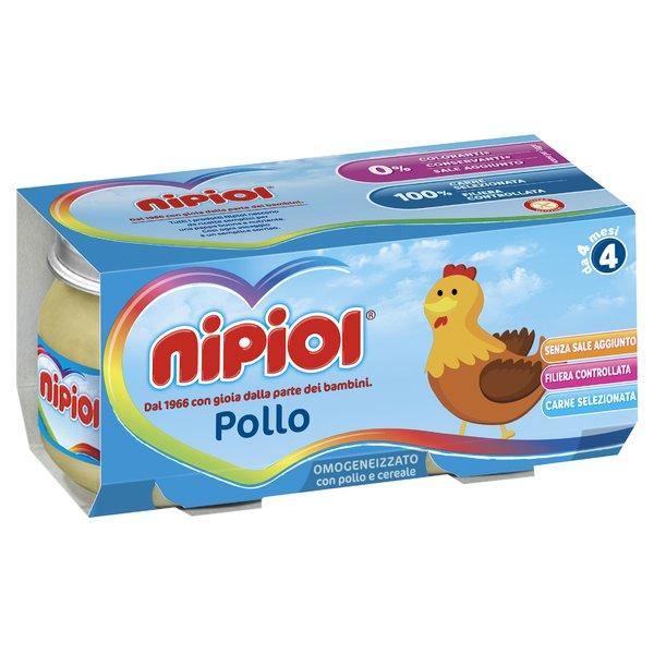 Nipiol Omogeneizzato con Pollo e Cereale 2 x 80 g