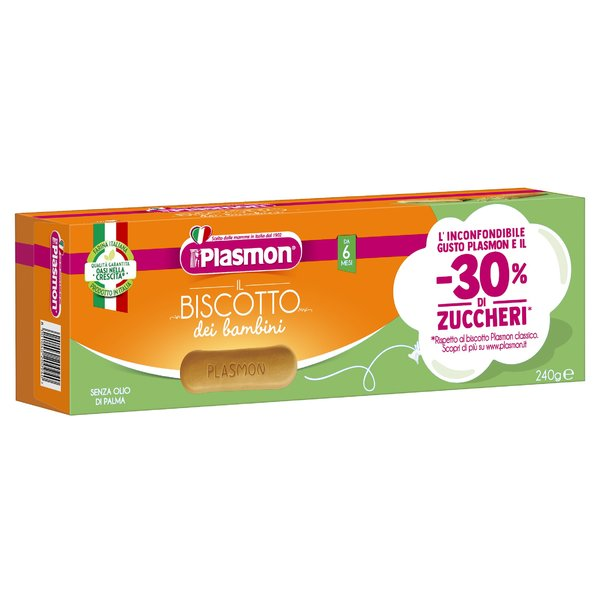 Plasmon Biscotto -30% Zucchero