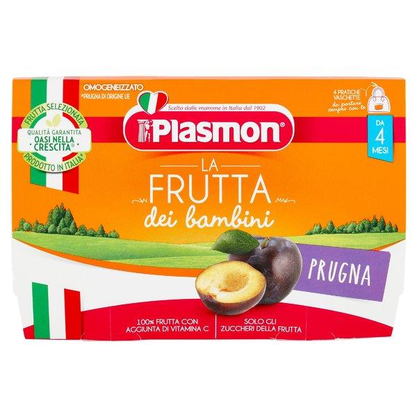 Plasmon la Frutta dei bambini Prugna 4 x 100 g