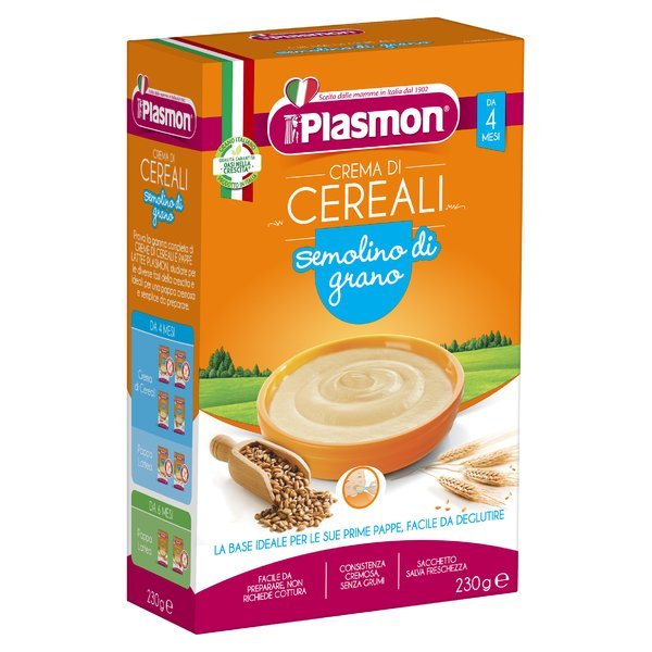 Plasmon Crema di Cereali semolino di grano 230 g
