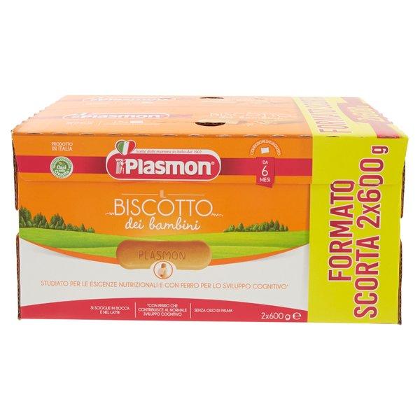 Plasmon il Biscotto dei bambini 2x600 g
