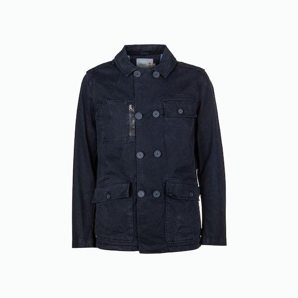 Kai Saharan double-breasted men's jacket
