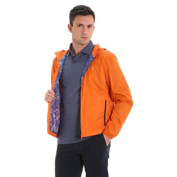 Chaqueta para hombre E09 hidrorrepelente y con capucha