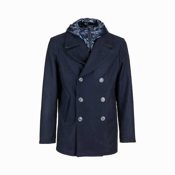 Giacca Uomo Sea-ty Peacoat D17 con gilet staccabile