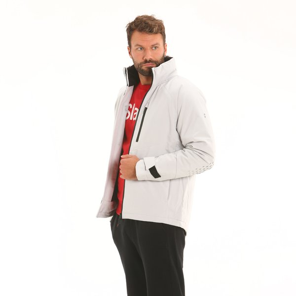 Men's jacket F03 in Maxland® recycled polyester with hood