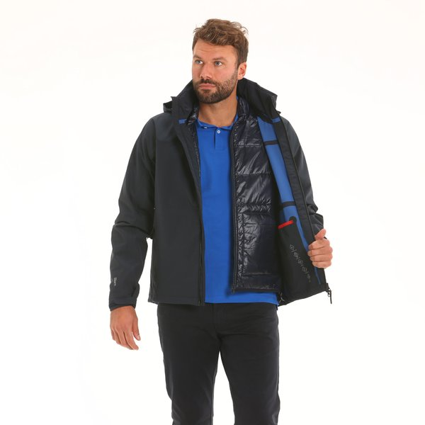 Men's jacket F04 with detachable interior in Maxland® polyester