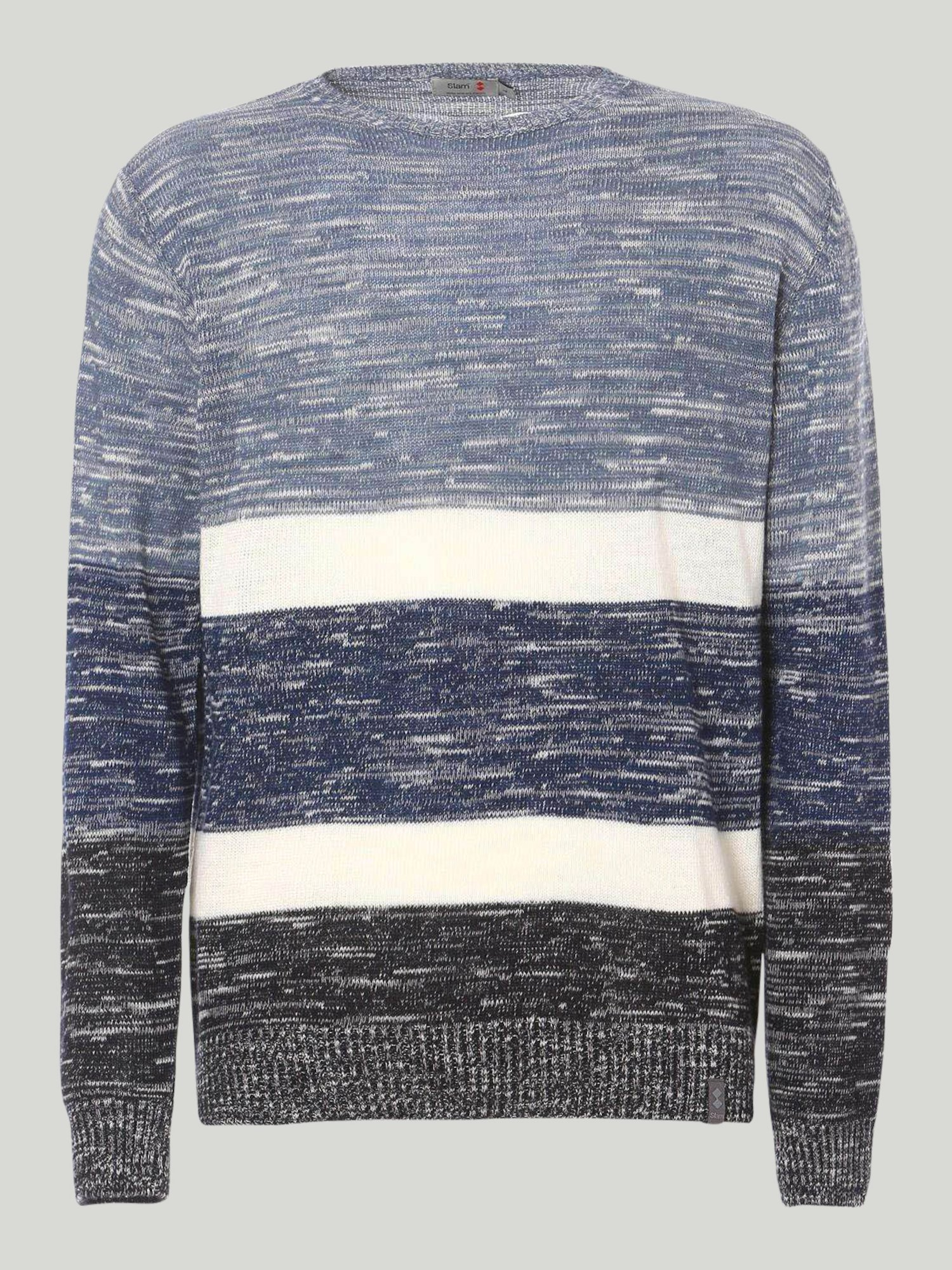 Shirt Stroll - Navy Melange
