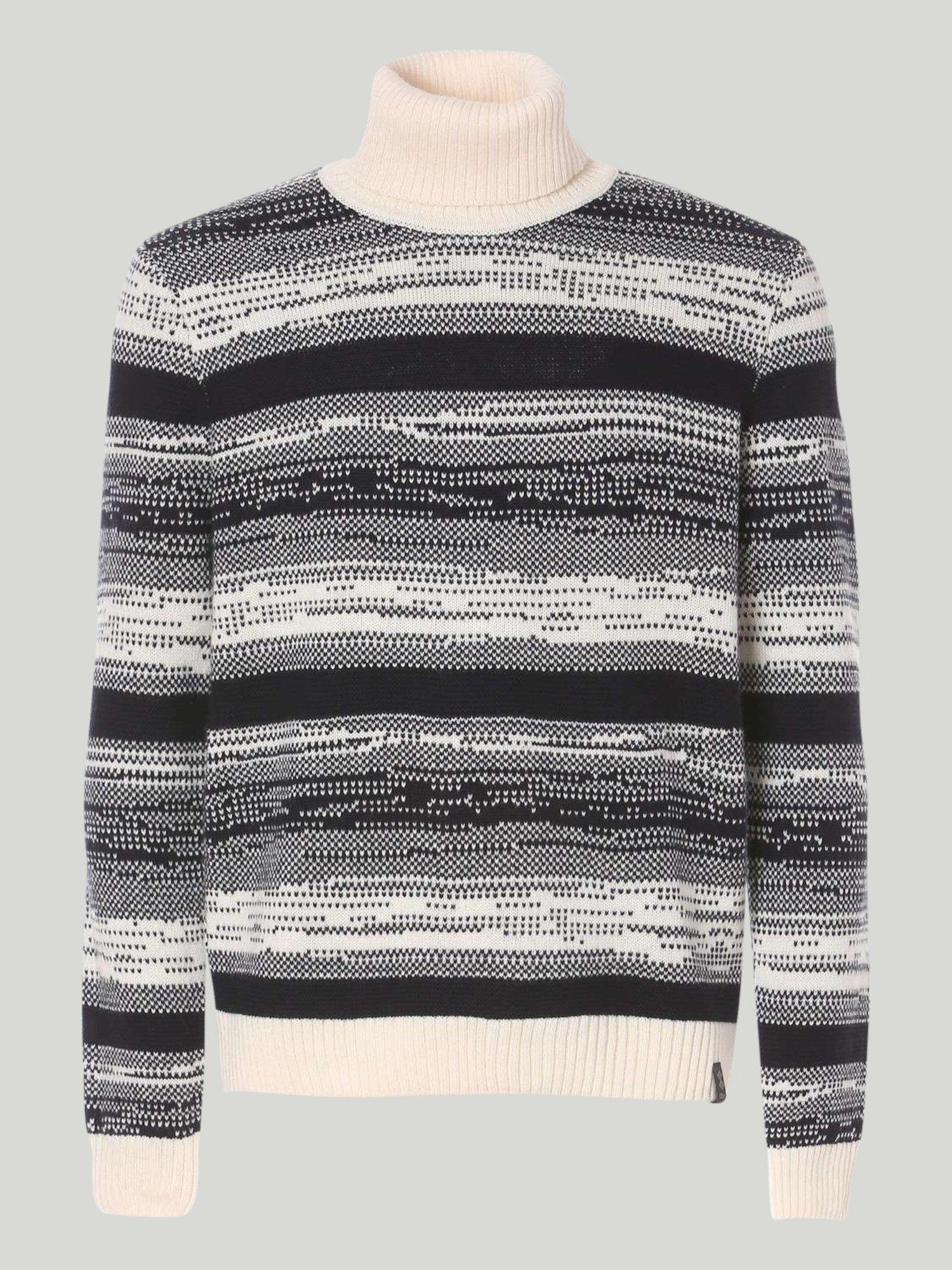 Winch Sweater - White / Navy